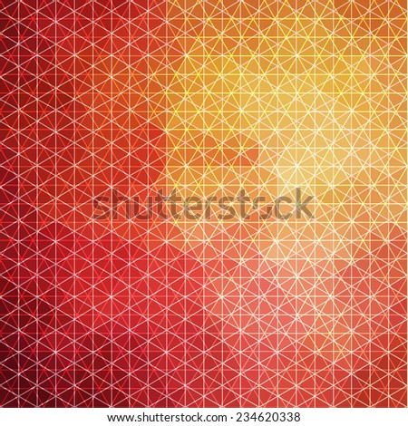 Ornate geometric background -eps10 - stock vector