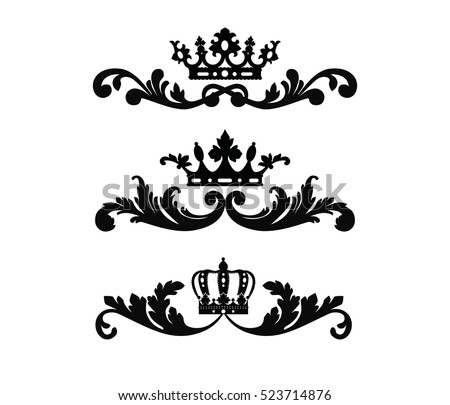 Crown Scroll Clip Art jg3jR JVG d9Jx93UPf 7Cd2  ElMUT8YyfTVl2NIdm4 on herb border
