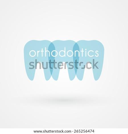 Orthodontics - stock vector