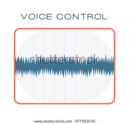 Oscillating wave and waveform sound chart letterbox equalizer. Sound chart technology waves. Blue frequency diagram of graphic audio equalizer for digital player sound chart oscillating waves vector. - stock vector