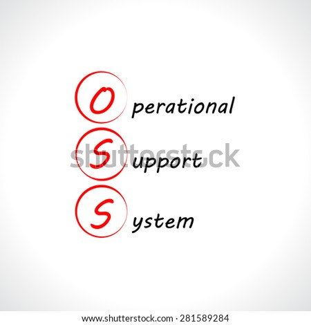 OSS, Operational support system