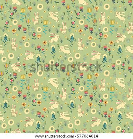 Christmas card cute little town stock vector 118309132 - Ostern wallpaper ...