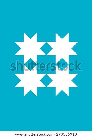 Ottoman Carpet Design - stock vector
