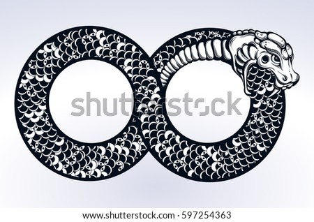 ouroboros stock images royalty free images vectors shutterstock. Black Bedroom Furniture Sets. Home Design Ideas
