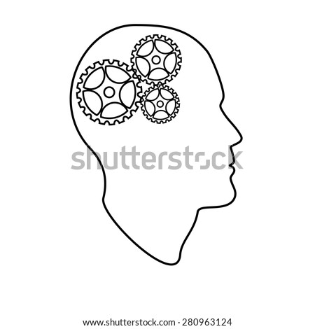 brain outline drawing - photo #37