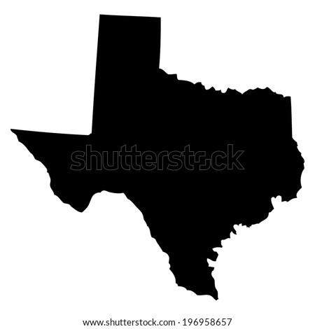 Texas Map Stock Images RoyaltyFree Images Vectors Shutterstock - Texas map outline