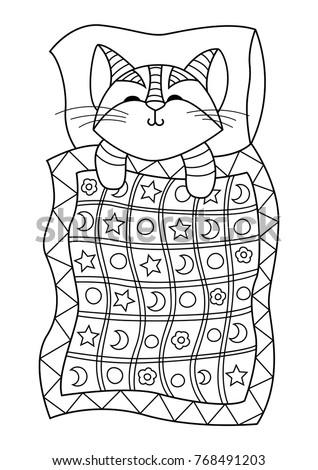 Cartoon Kitten Stock Images RoyaltyFree