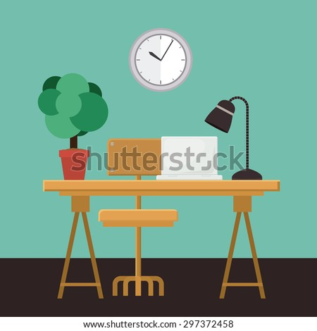 Outsourcing digital design, vector illustration eps 10