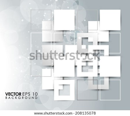 Overlapping Elements Design Eps 10