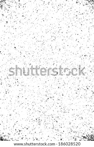 Overlay dust grainy texture for your design. EPS10 vector. - stock vector