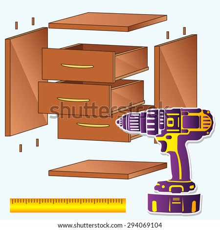 Assembling Furniture Stock Photos Images Pictures Shutterstock