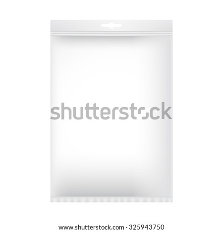 Package mock up. Vector illustration - stock vector