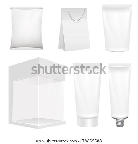 packaging - stock vector