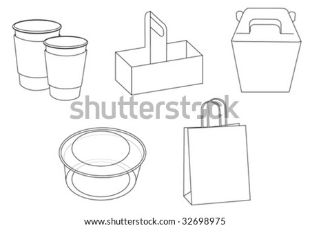 packaging - stock vector