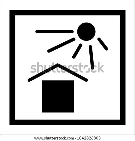 Packaging Pictorial Marking Handling Goods Iso Stock Vector Hd