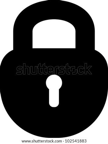 padlock vector icon isolated stock vector 102541883 shutterstock rh shutterstock com padlock vector image padlock vector icon