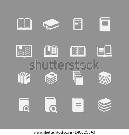 Page icon - stock vector