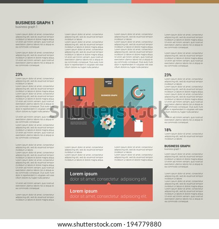 Page layout design.