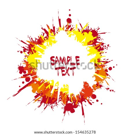 paint design over white background vector illustration