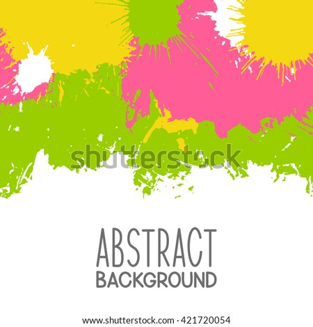 Paint splash background for Your design