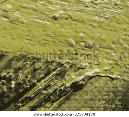 Painting fragment vector illustration. Oil on canvas texture. abstract background. brushstrokes.Modern art.