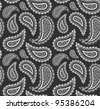 Paisley Seamless Pattern - stock photo