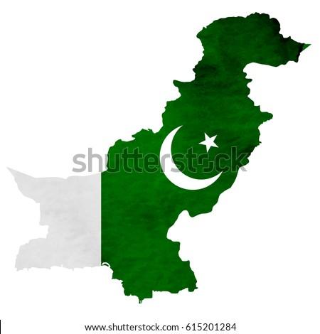 Pakistan Map Stock Images RoyaltyFree Images Vectors - Pakistan map