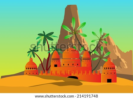 Arabic Palace Stock Images Royalty Free Images Amp Vectors