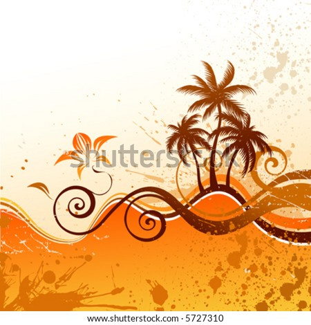 Palm - stock vector