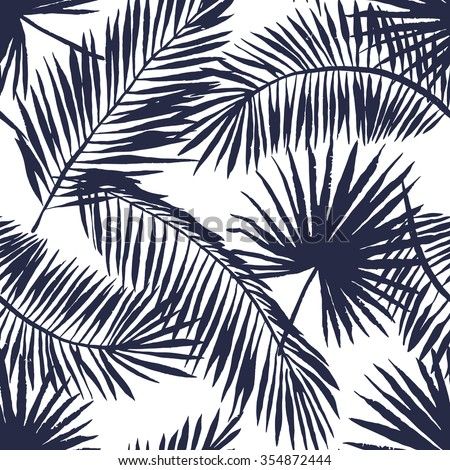 palm frond wallpaper