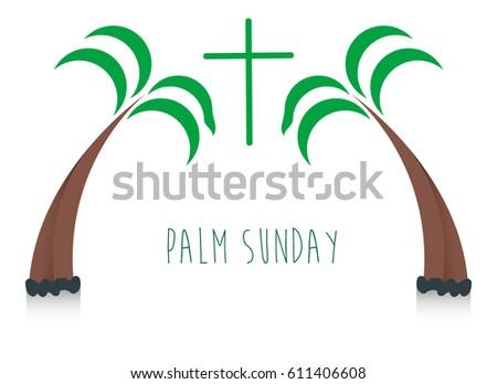 Palm Sunday Illustration Stock Images, Royalty-Free Images ...