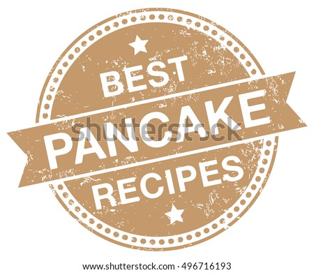 Pancake Recipes stamp