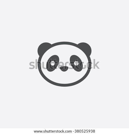 panda Icon. panda Icon Vector. panda Icon Art. panda Icon eps. panda Icon Image. panda Icon logo. panda Icon Sign. panda Icon Flat. panda Icon design. panda icon app. panda icon UI. panda icon web - stock vector