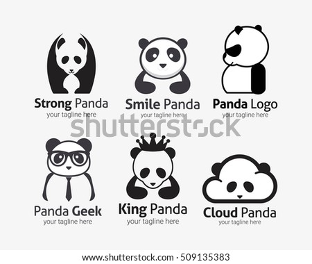 Panda Logo Design Stock Images, Royalty-Free Images & Vectors ...