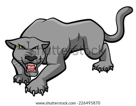 Panther - stock vector