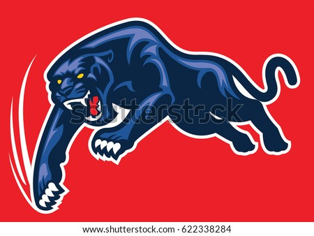 Panther claw logo - photo#51
