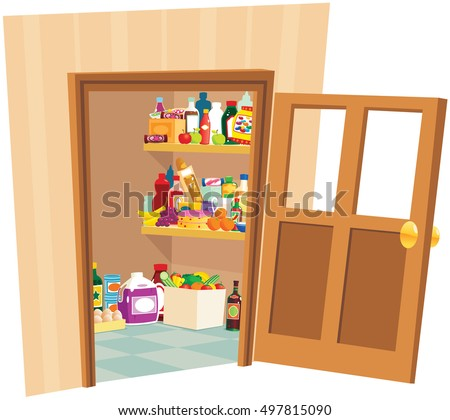 Pantry store.