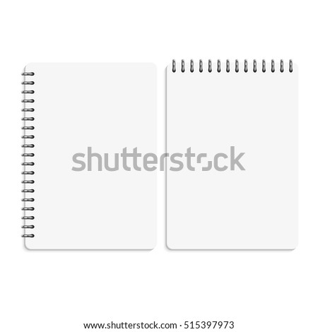 Blank Memo Blank Memo Pad With Red Cover Memopad Stock Photos
