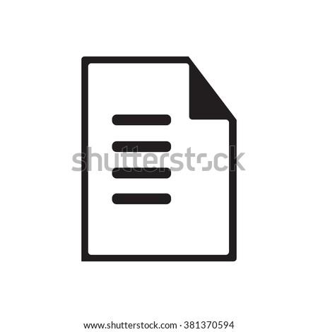 Paper icon, Paper icon eps10, Paper icon vector, Paper icon eps, Paper icon jpg, Paper icon picture, Paper icon flat, Paper icon app, Paper icon web, Paper icon art, Paper icon, Paper icon object - stock vector