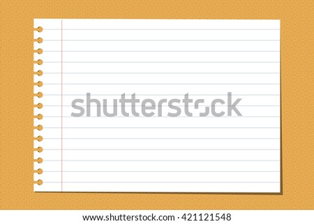 paper note on a board