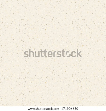paper seamless vector texture background with particles of debris - stock vector