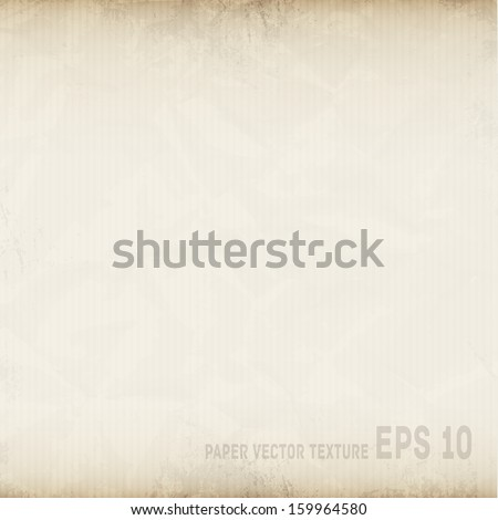Paper vector texture background - stock vector