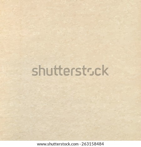 Paper vintage beige recycled texture background - stock vector