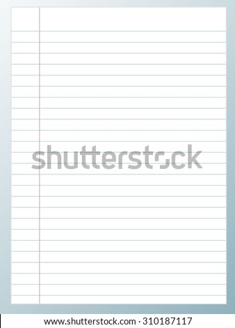 paper White sheet Realistic.  vector background