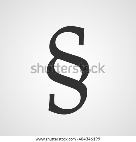 Paragraph Symbol Section Vector Icon Stock Vector 2018 404346199
