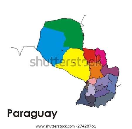 Paraguay - stock vector
