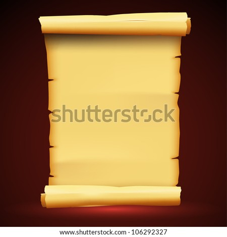 Parchment Paper Antique Background