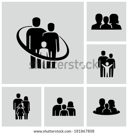 Parents - stock vector