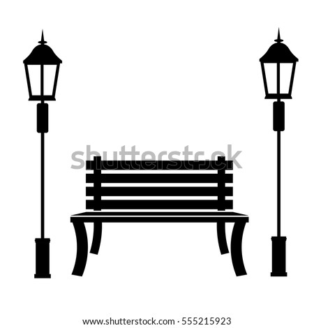 park bench icon image vector illustration stock photo photo vector rh shutterstock com