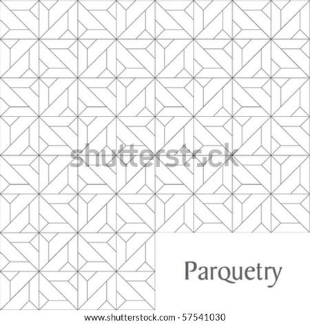 Parquetry ornament - stock vector